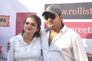 With Sajid bhai
