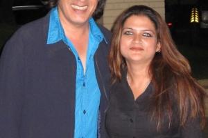 With Rahul Roy