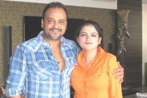 With my cousin Sajid bhai