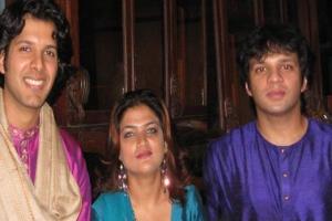 With Amaan & Ayaan Ali Khan