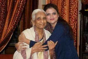 With Girija Dadi