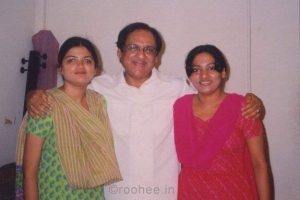 With Gulam Ali Ji