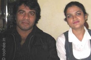 With Javed Bashir