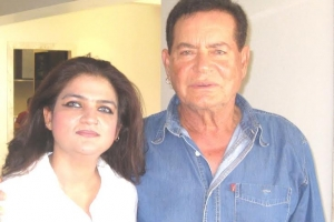 With Salim Uncle