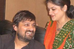 With Wajid Khan