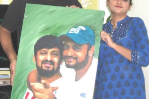 With Wajid bhai