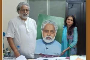 With Sudip Bandyopadhyay ji